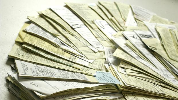 Nota Fiscal em papel