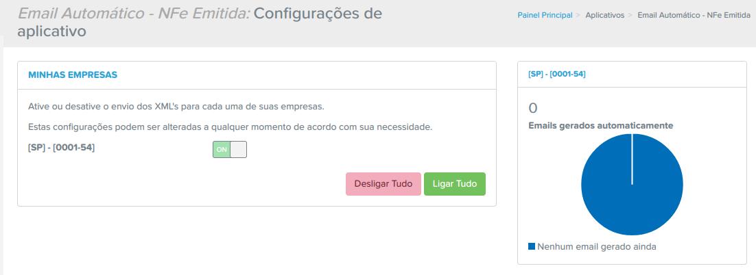 Com o E-mail Automático - NFe Recebida, você pode automatizar o armazenamento de arquivos XML de NFes