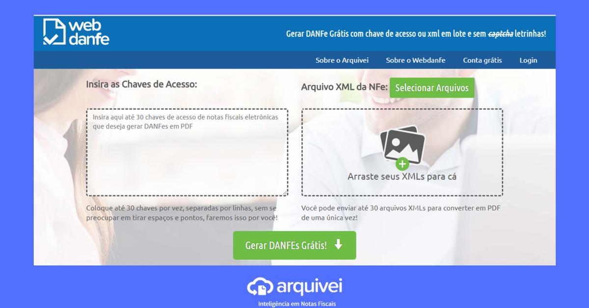 Webdanfe Arquivei